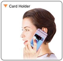 Silicone Mobile Smart Wallet With Stand