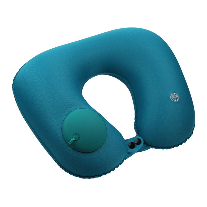 Automatic Press Type Inflatable Neck Pillow